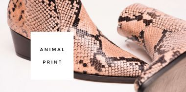 Eiler Schuhe Animal Print Fashion Trend Boots