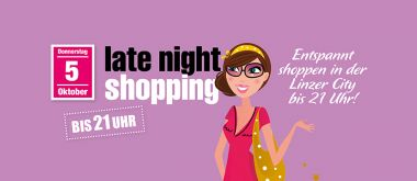 Late Night Shopping Linzer City
